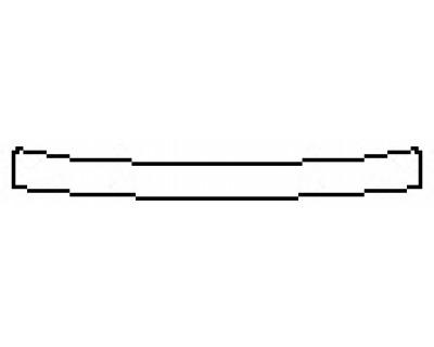 2017 LEXUS RC TURBO F-SPORT Rear Bumper Deck