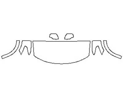 2020 NISSAN ARMADA PLATINUM Hood(30 Inch) Fenders Mirrors