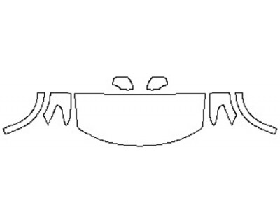 2020 NISSAN ARMADA SL Hood(30 Inch) Fenders Mirrors