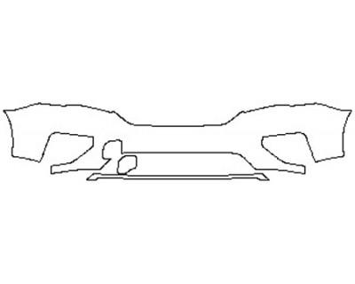2020 NISSAN PATHFINDER PLATINUM Bumper