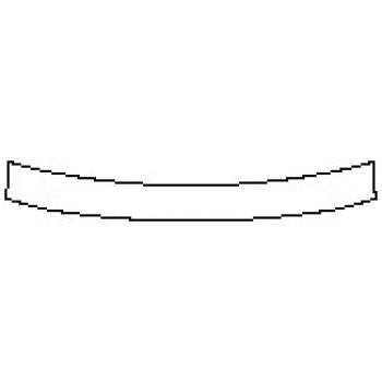 2020 NISSAN PATHFINDER PLATINUM Rear Bumper Deck