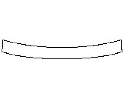 2020 NISSAN PATHFINDER S Rear Bumper Deck
