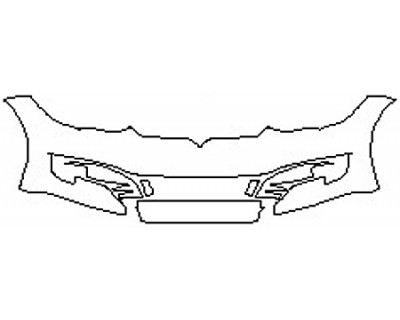 2020 TESLA MODEL S  Bumper (6 Piece)