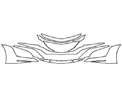 2017 ACURA NSX Bumper