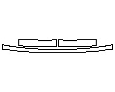2017 CHRYSLER 300 ALLOY EDITION Rear Bumper Deck