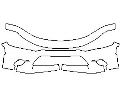 2020 DODGE CHARGER DAYTONA 392 Bumper (2 Piece)