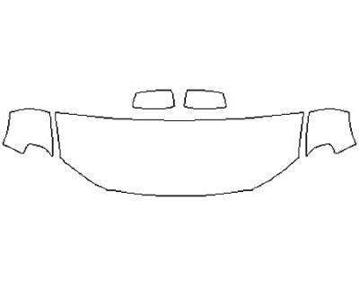 2017 DODGE DURANGO GT Hood(24 Inch) Fenders Mirrors