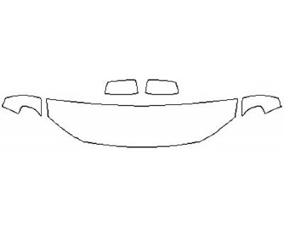 2017 DODGE DURANGO GT Hood(18 Inch) Fenders Mirrors