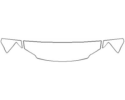 2019 DODGE GRAND CARAVAN GT Hood(18 Inch) Fenders Mirrors