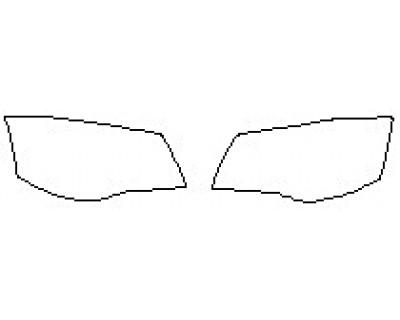 2020 DODGE GRAND CARAVAN GT Headlights