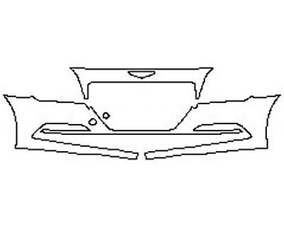 2017 HYUNDAI GENESIS G80 5.0L Bumper (2 Piece)