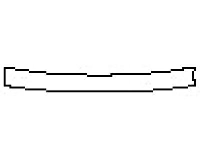 2017 HYUNDAI GENESIS G80 5.0L Rear Bumper Deck