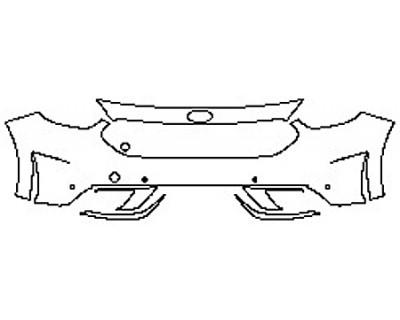 2020 KIA NIRO Bumper with Sensors
