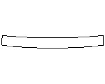 2020 NISSAN ROGUE SV Rear Bumper Deck