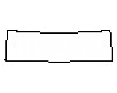 2017 CHEVROLET CAMARO ZL1 Rear Bumper Deck