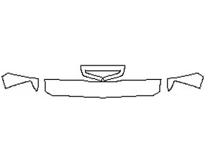 2018 CHEVROLET SILVERADO 2500HD DURAMAX Hood(12 Inch) Fenders