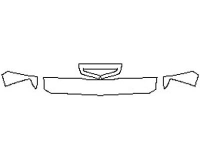 2017 CHEVROLET SILVERADO 3500HD DURAMAX Hood(12 Inch) Fenders