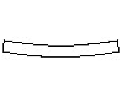 2018 CHEVROLET TRAX LS Rear Bumper Deck