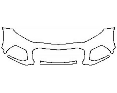 2020 CHEVROLET TRAX PREMIER Bumper(2 Piece)