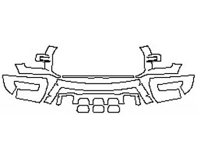 2020 FORD F-150 RAPTOR Bumper