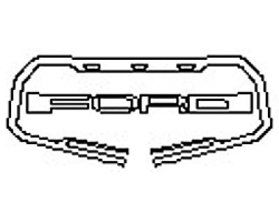 2020 FORD F-150 RAPTOR Grille