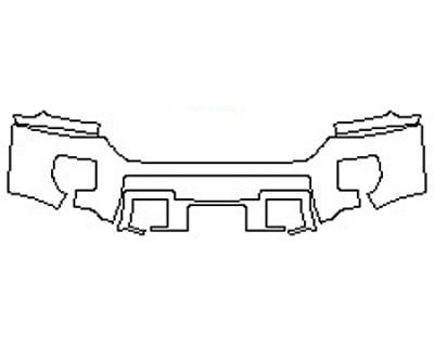 2017 GMC SIERRA 3500HD DURAMAX Bumper