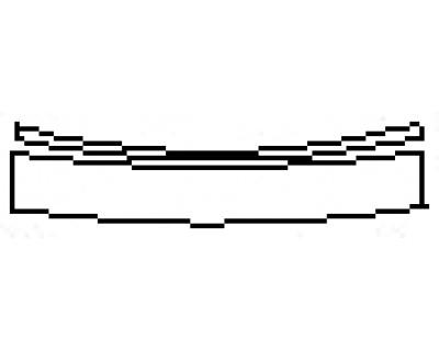 2017 KIA CADENZA PREMIUM Rear Bumper Deck