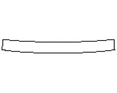 2020 NISSAN ROGUE S Rear Bumper Deck