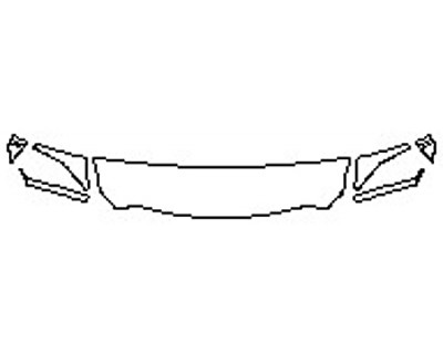 2017 DODGE RAM 2500 LARAMIE Hood(18 Inch Wrapped Edges) Fenders