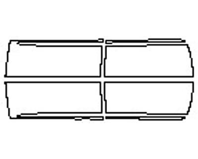 2017 DODGE RAM 2500 LARAMIE Doors With Molding (Craw And Mega Cab)