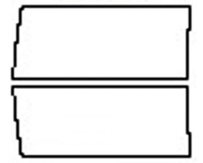 2017 DODGE RAM 2500 LONE STAR Doors (Regular Bed)