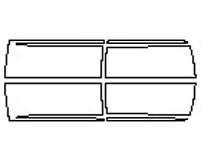 2017 DODGE RAM 2500 LONE STAR Doors With Molding (Craw And Mega Cab)
