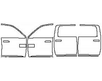 2017 DODGE RAM 2500 LONE STAR Full Doors With Molding (Mega Cab)