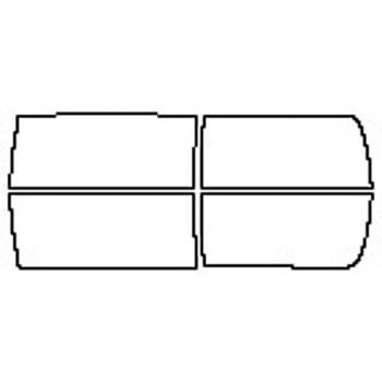 2017 DODGE RAM 2500 TRADESMAN Doors (Craw And Mega Cab)