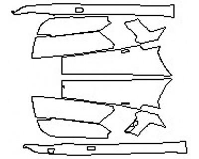 2017 LAMBORGHINI AVENTADOR LP700-4 COUPE Full Interior Door Panels