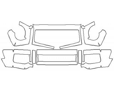 2017 MERCEDES G-CLASS SUV G63 AMG Bumper