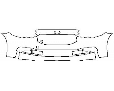 2017 KIA K900 V6 LUXURY Bumper (3 Piece)