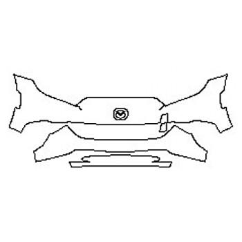 2019 MAZDA MX-5 MIATA SPORT Bumper (3 Piece)