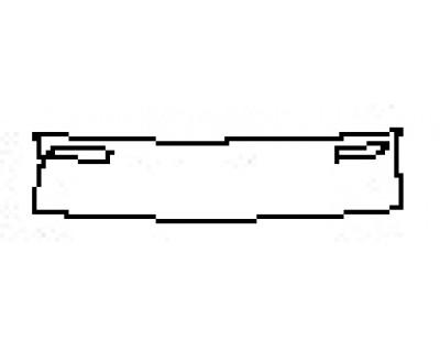 2020 MAZDA MX-5 MIATA SPORT Rear Bumper Deck
