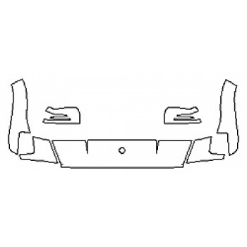 2017 MERCEDES G-CLASS SUV G550 Hood Fenders Mirrors