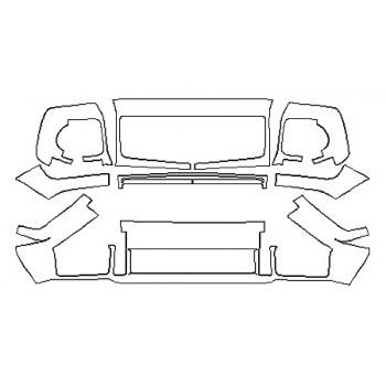 2017 MERCEDES G-CLASS SUV G550 Bumper