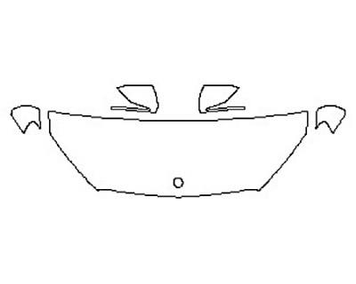 2017 MERCEDES GLC-CLASS SUV GLC300 SPORT Hood (24 Inch) Fenders Mirrors