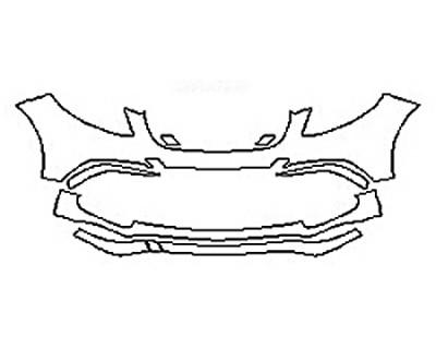 2017 MERCEDES GLE-CLASS SUV GLE63 AMG Bumper