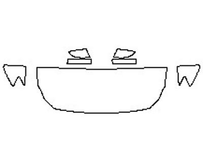 2017 MASERATI QUATTROPORTE S Q4 GRANSPORT Hood (24 Inch) Fenders Mirrors