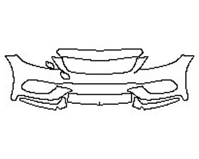 2017 MERCEDES C-CLASS SEDAN C43 AMG Bumper (5 Piece)