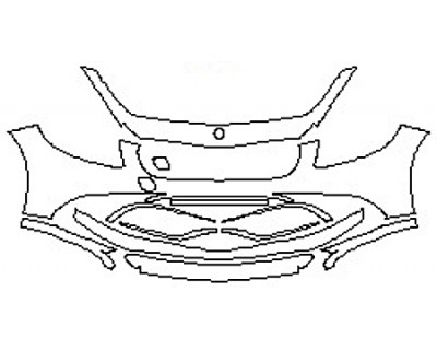 2017 MERCEDES S-CLASS CABRIOLET S65 AMG Bumper (11 Piece)