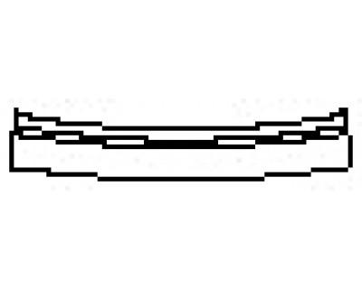 2017 MERCEDES S-CLASS CABRIOLET S65 AMG Rear Bumper Deck