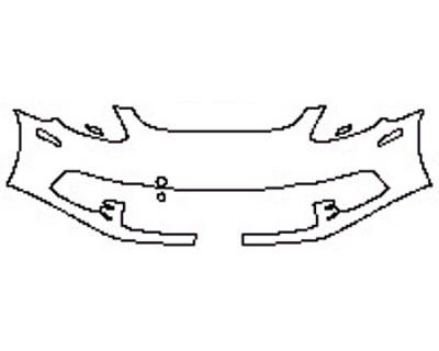 2018 PORSCHE PANAMERA 4 E-HYBRID Bumper (1 Piece)