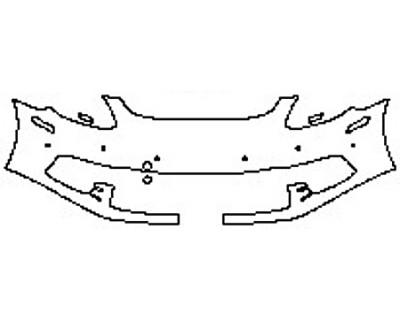 2018 PORSCHE PANAMERA 4 E-HYBRID Bumper with Sensors (1 Piece)