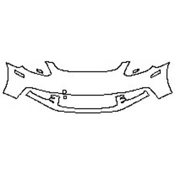 2018 PORSCHE PANAMERA 4 E-HYBRID EXECUTIVE Bumper (2 Piece)